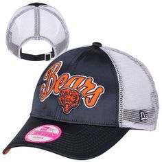 Chicago Bears New Era Youth League 9FORTY Adjustable Hat - Navy ...