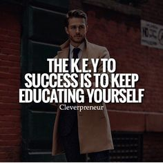 Great post from @millionaire.dream Always always always keep educating and improving yourself so you become a better entrepreneur