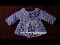 ▶ Casaquinho em Crochê Parte -3 Final - YouTube