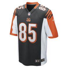 Nike NFL Cincinnati Bengals (Tyler Eifert) Men's Football Home Game Jersey Size Small (Black) - Clearance Sale