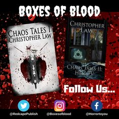 Hand-picked horror, delivered to your door. Featuring the best independent and small-press horror writers working today. Horror Books, Writers, Badge, Blood, Boxes, Crates, Box, Authors, Cases