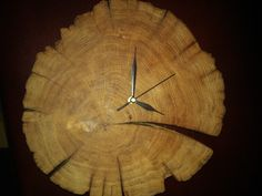CLOCK from the patch old WOOD
