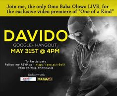 """Davido (@iam_Davido) – Exclusive Behind the Scene of yet to release """"One Of a Kind"""" and Hangout Invitation with Fans"""