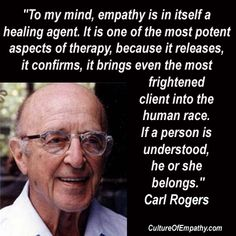 Carl Rogers; Culture of Empathy                              …