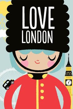 Momiji Illustration so unique to london London England, Thinking Day, London Calling, Vintage Travel Posters, Lettering, Inspire Me, Just In Case, My Love, Retro
