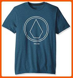 da06090593 Volcom Men s Pin Line Stone Short Sleeve T-Shirt