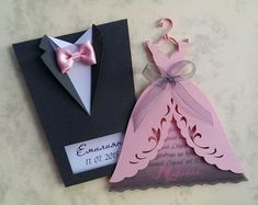 "Wedding Invitation Boxes ""Groom Suit"", Handmade Bridal Invitation Boxes, Invitatio on Luulla Card Table Wedding, Wedding Invitation Cards, Wedding Favors, Wedding Decorations, Diy Wedding Cards, Handmade Invitation Cards, Wedding Ideas, Paper Crafts Origami, Table Cards"