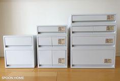Kitchen Organization, Locker Storage, Dresser, Cabinet, House, Furniture, Muji Products, Home Decor, Room Ideas