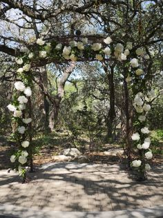Hydrangea and natural greenery designed at Sacred Oaks of Camp Lucy | Whim Florals