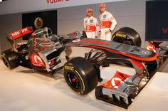 Supporting Jenson Button and Lewis Hamilton at McLaren.