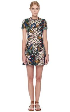VALENTINO : Multi Macrame Bouquet Dress | Sumally