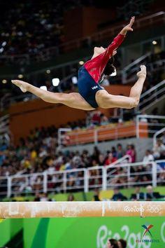 Laurie Hernandez Team Usa Gymnastics, Gymnastics Workout, Artistic Gymnastics, Olympic Gymnastics, Olympic Sports, Gymnastics History, Gymnastics Posters, Laura Lee, Lauren Hernandez
