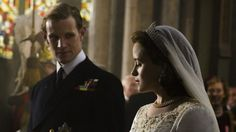 <i>The Crown</i>, starring Claire Foy and Matt Smith, is about the early married life of Queen Elizabeth II and the Duke ...