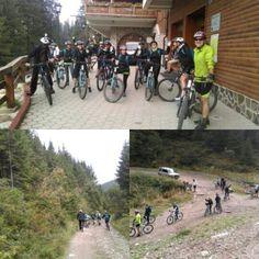 Zi frumoasa, alaturi de oameni frumosi! Plimbare in natura, pe biciclete, impreuna cu ghidul nostru, Mircea. :)