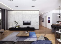 einrichtungsbeispiele raumgestaltung inneneinrichtung ideen inneneinrichter wohnideen minimalismus purismus reduktion betonplatten
