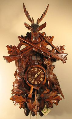 8396 cuckoo clock by Rombach und Haas