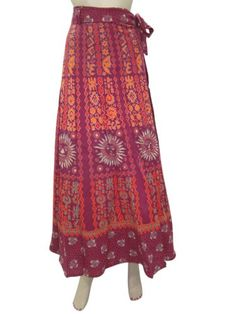 Bohemian Wrap Around Skirt Cotton Wrap Skirt, Gypsy Sarong Skirts Indiatrendzs Mogul Interior,http://www.amazon.com/dp/B00FIYZG0C/ref=cm_sw_r_pi_dp_DMxssb1M78K7ZE9S