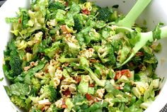 """I made this for my mother's retirement party, as a side dish.  I absolutely LOVED it!!!!  I used the """"honey"""" sliced salad almonds, that are in the salad dressing section and 3 Ramen noodles, with one packet of the oriental seasoning!!"""