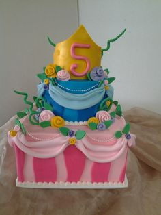 What Princess wouldn't love this cake!