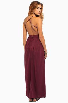 X back maxi dress tobi 50