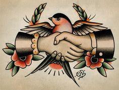 OD ~ Bird Tattoo Flash | KYSA #ink #design #tattoo
