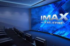 If you've got a cool million or two lying around and you want the ultimate in home theater entertainment, look no further than IMAX. The company recently announced plans to offer a select few the opportunity to bring the IMAX… Salas Home Theater, Home Theater Design, Movie Theater Rooms, Home Cinema Room, Theatre Rooms, Movie Rooms, Eco Deco, Room Screen, Home Theater Projectors