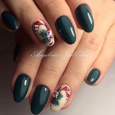 Super nails design summer sns Ideas - All For Hair Color Trending Nail Art Noel, Xmas Nail Art, Holiday Nail Art, Xmas Nails, Christmas Nail Designs, Christmas Nails, Fun Nails, Christmas Glitter, Christmas Design