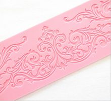 New Pattern Decorative Design Cake Lace Decorate Silicone Fondant Chocolate Decorating Mat Mold Kitchen Bakeware Cooking Tools(China (Mainland))