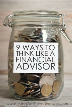Ever wish you were better at making smart money decisions?  Believe it or not, taking control of your budget and your financial health isn't as complicated as it sounds.  If you're ready to get back on track, don't miss these 9 smart ways to think like a financial advisor! via @lwsl
