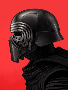 Kylo Ren Portrait - Mike Mitchell