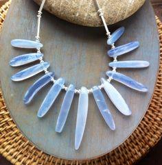 Chalcedony necklace www.chokerbali.com