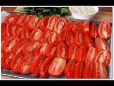 Заготовки на зиму, Вяленые помидоры.