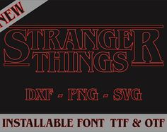 Type Generator Creates The Font From 'Stranger Things