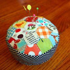 pincushion by vintagemodernquilts | lisa, via Flickr