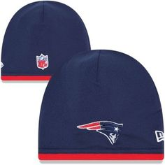 New Era New England Patriots 2013 On-Field Player Sideline Tech Knit Beanie  - Navy 0a6731c3c