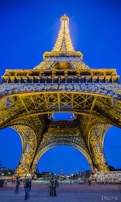 Eiffel Tower Paris , France.I would love to go see this place one day.Please check out my website thanks. www.photopix.co.nz