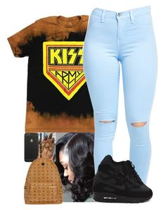 """""""Untitled #22"""" by amyajoinae ❤ liked on Polyvore featuring NIKE and MCM"""