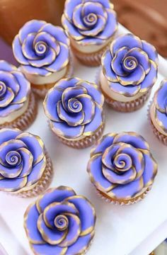 "The most beautiful cupcakes, fit for a princess! ""Sofia the First Party 
