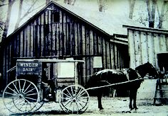 Horse and buggy delivery