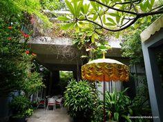 frangipani 1960s hotel Hotel California, Phnom Penh, Cambodia, 1960s, Bamboo, Gardening, Lawn And Garden, Sixties Fashion, Horticulture