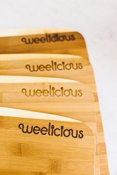 FIVE Core Bamboo Cutting Boards Giveaway! #WeeliciousGiveaways