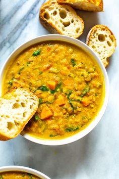 The BEST Instant Pot Lentil Soup - Eating Instantly