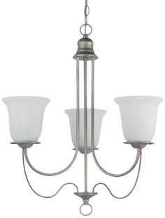 Sea Gull Lighting 31291BLE-57 Chandelier with White Alabaster Glass Shades, Weathered Pewter Finish Sea Gull Lighting http://www.amazon.com/dp/B00BJKJG0U/ref=cm_sw_r_pi_dp_5KL2tb0N91SPBXPQ