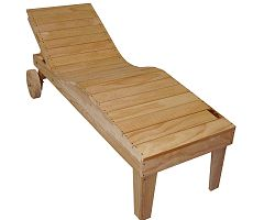 How to make a Relaxing Garden Lounger - P1