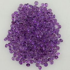 Description : AFRICAN AMETHYST BUFFTOP ROUND 2MM Product Size : 2MM Grade : AA Approx weight per piece : 0.03 Cts.