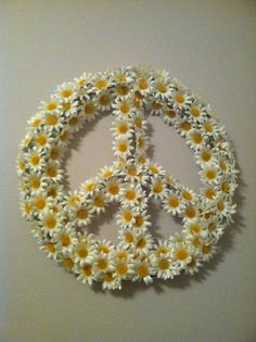 Daisy peace wreath!!