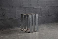 The Good Mod - SCULPTURAL STEEL SPIRAL TABLE AND BENCH