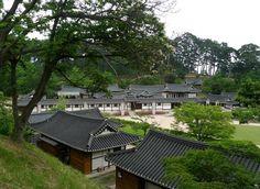 Sungyo-jang, Korea, extreme stoic beauty of 99 room mansion