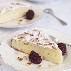 Italian cheesecake with lemon