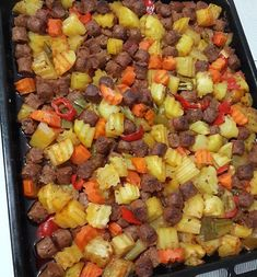 Image may contain: food Casserole Recipes, Meat Recipes, Snack Recipes, Cooking Recipes, Healthy Recipes, Turkish Recipes, Ethnic Recipes, Iftar, No Cook Meals